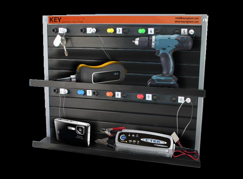 Gestión de herramientas y equipos Key Vigilant
